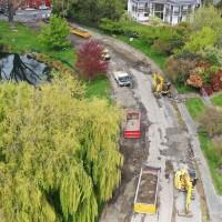 Avon Loop asphalt removal