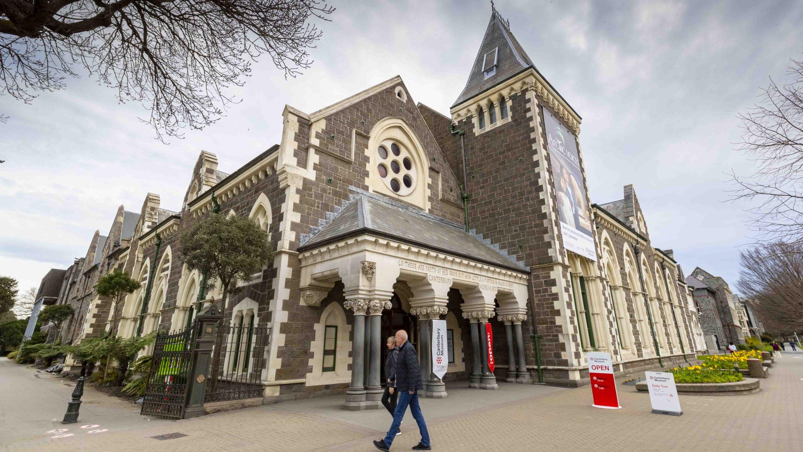 Canterbury Museum unveils redevelopment plans