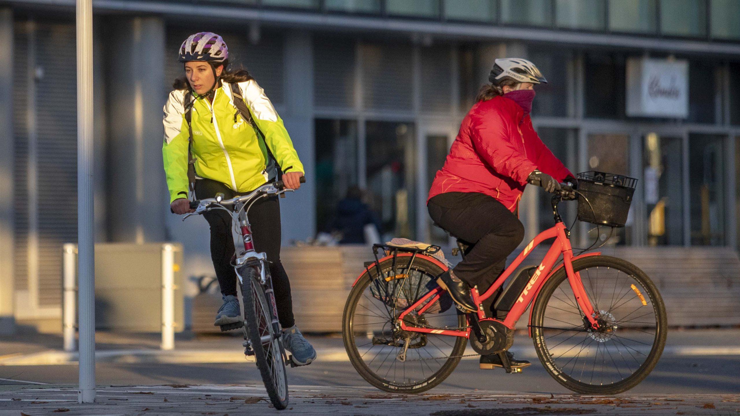 Christchurch cyclists change up a gear
