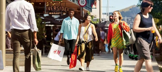 Christchurch retail spending returns to pre-COVID levels