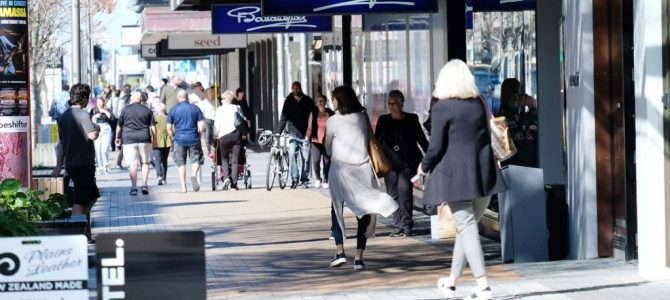 Retail spending in Christchurch – May 2020