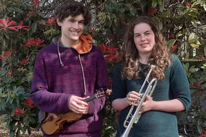 Musical siblings in harmony for NZSO award