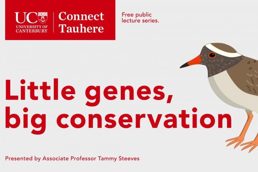 UC Connect free public lecture: Little genes, big conservation