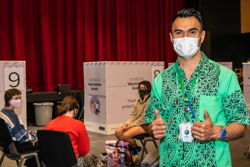 UC's pop-up Covid-19 vaccination clinic extended due to demand