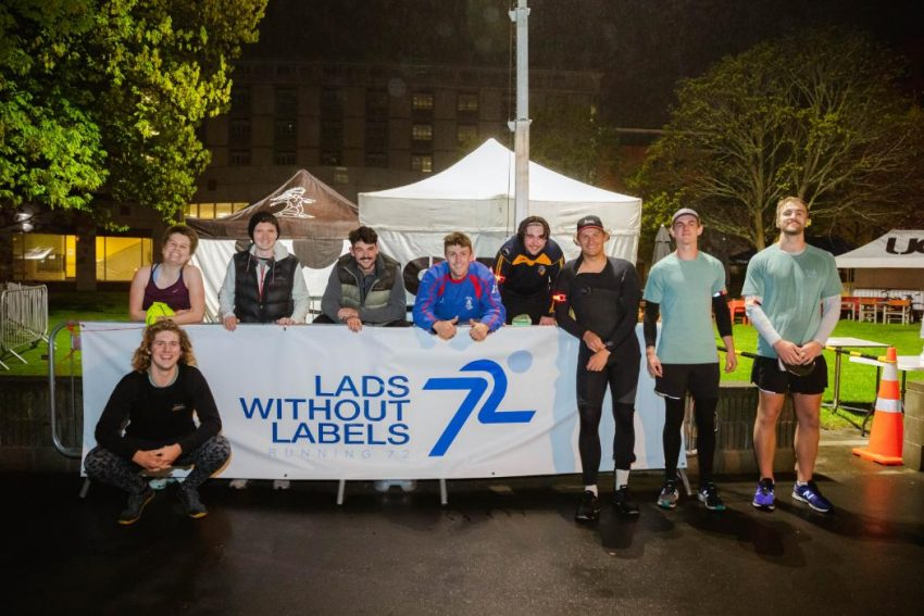 University of Canterbury charity Lads Without Labels raising awareness for men's mental health